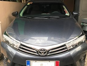Sell 2014 Toyota Altis Automatic Gray at 23300 km