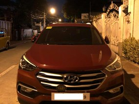 2017 Hyundai Santa Fe Automatic at 19000 km for sale in Pasig