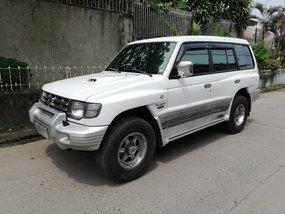 Sell White 2003 Mitsubishi Pajero Automatic Diesel in Metro Manila