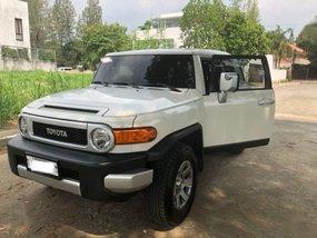 Selling Toyota Fj Cruiser 2018 Automatic Gasoline in Quezon City