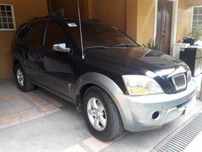 Black Kia Sorento 2008 for sale in Pasig