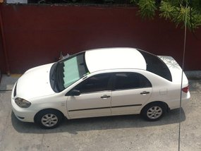 Selling Used Toyota Corolla Altis 2005 Manual Gasoline at 110000 km in Las Piñas