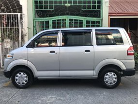 Selling 2nd Hand Silver 2015 Suzuki Apv Manual in Pasig