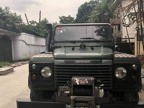 Selling Green Land Rover Defender 2001 Manual Diesel at 162000 km