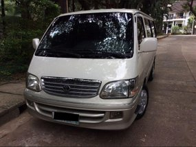 Selling 2nd Hand Toyota Hiace 2003 in Quezon City