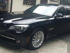 Selling Black Bmw 750Li 2012 at 3000 km in Pasig