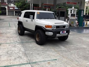2nd Hand Toyota Fj Cruiser 2019 for sale in Quezon City