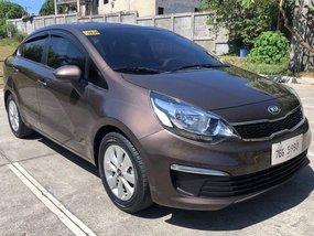 Selling Kia Rio 2017 Manual Gasoline in Cebu City