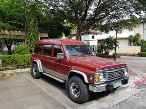 Red Nissan Patrol Super Safari 1998 for sale in Makati