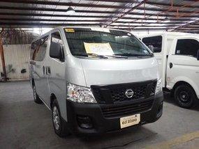 Silver Nissan Urvan 2017 Van for sale in Manila