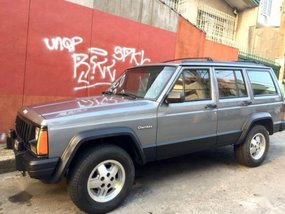 Jeep Cherokee 1997 Manual Gasoline for sale in Quezon City