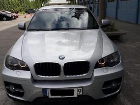 Silver Bmw X6 2010 for sale in Pasig