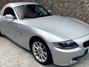 Selling Silver Bmw Z4 2007 Automatic Gasoline in Pasig