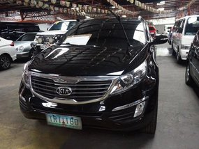 Selling Black Kia Sportage 2011 Automatic Gasoline in Manila