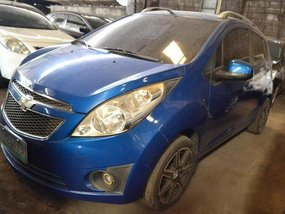 Blue Chevrolet Spark 2011 for sale in Makati