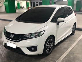 White Honda Jazz 2017 Automatic Gasoline for sale in Pasig