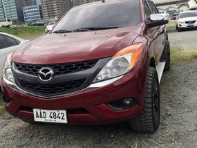 Selling 2nd Hand Mazda Bt-50 2015 Automatic Diesel at 40000 km in Quezon City
