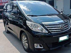 Selling Black Toyota Alphard 2013 in Meycauayan