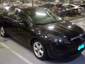 Black 2009 Ford Focus Manual Gasoline at 50000 km for sale