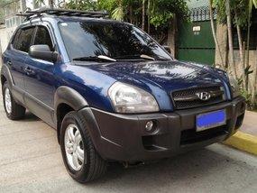 Hyundai Tucson 2006 Manual Gasoline for sale in Quezon City
