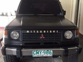 Mitsubishi Pajero 1990 Manual Gasoline for sale in Quezon City