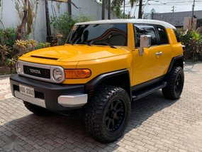 Selling 2nd Hand Toyota Fj Cruiser 2017 at 18000 km in Marikina