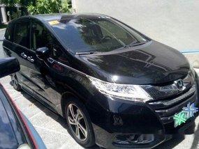 Black Honda Odyssey 2016 Automatic Gasoline for sale in Quezon City