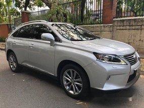 Silver Lexus Rx 350 2012 Automatic Gasoline for sale