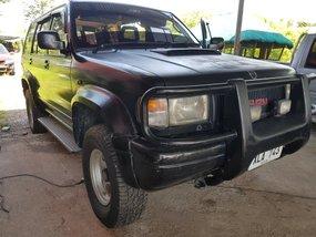 Selling Black Isuzu Trooper 2000 Manual Diesel in Isabela