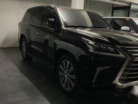 Black 2018 Lexus Lx at 3000 km for sale in Makati