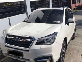 Sell 2nd Hand 2016 Subaru Forester Automatic Gasoline at 49000 km in Davao City
