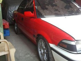 Red Toyota Corolla 2016 Manual for sale