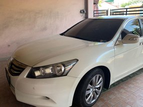 Pearl White Honda Accord 2012 for sale in Makati