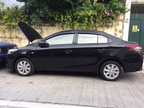 Black Toyota Vios 2015 Manual for sale