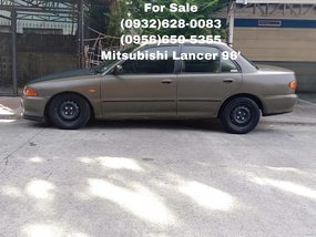 Selling Mitsubishi Lancer 1996 Manual Gasoline in Quezon City