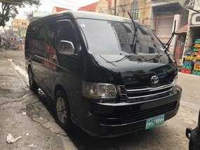 Selling 2nd Hand Toyota Hiace 2009 at 76000 km in Manila