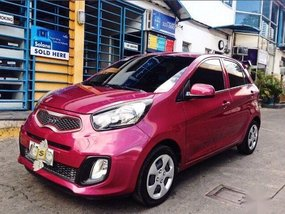 Sell 2nd Hand 2016 Kia Picanto Manual Gasoline at 37000 km in Cebu City