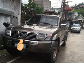 Brown Nissan Patrol 2003 for sale in Baguio