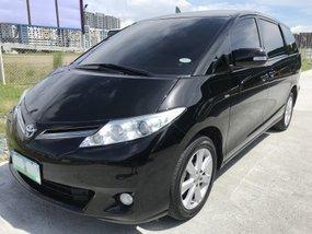Black 2010 Toyota Previa Automatic Gasoline at 78000 km for sale
