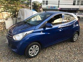 Selling Blue Hyundai Eon 2017 at 20000 km in Isabela