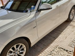 White BMW 118D 2012 Hatchback for sale in Cebu City