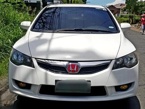 Sell White 2009 Honda Civic at 84000 km in Metro Manila