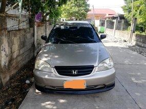 Selling Beige Honda Civic 2002 at 217272 km
