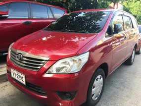 Selling Red Toyota Innova 2016 Manual Diesel at 17010 km in Quezon City