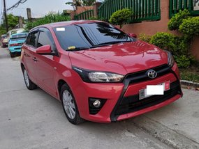 Selling 2nd Hand Toyota Yaris 2017 Manual Gasoline at 16000 km in Angeles