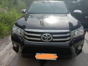 Sell 2nd Hand 2018 Toyota Hilux Manual Diesel at 25991 km in Quezon City