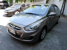 2014 Hyundai Accent Manual Gasoline at 52000 km for sale
