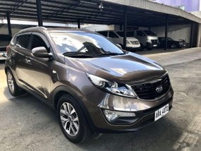 Sell Brown 2014 Kia Sportage in Manila