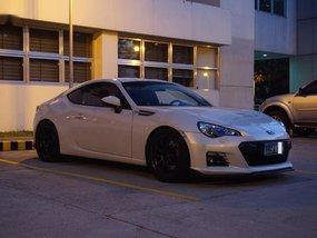 Sell Pearl White 2013 Subaru Brz Manual Gasoline at 40000 km in Manila