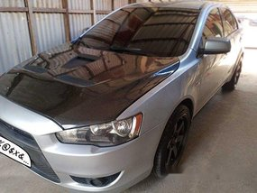 Selling Silver Mitsubishi Lancer Ex 2009 Automatic Gasoline in Navotas